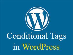 conditional tags در وردپرس چیست