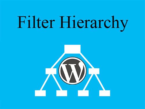 filter hierarchy چگونه کار می کند؟