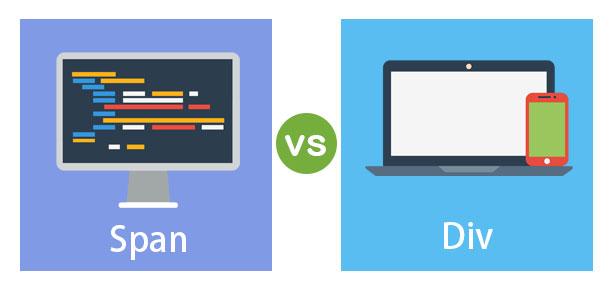 تفاوت span و div
